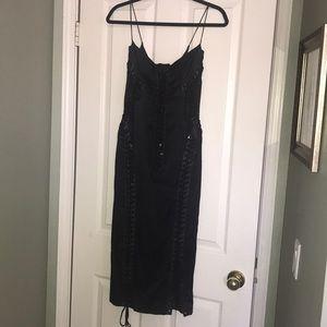 Dolce & Gabbana Black dress, lace up